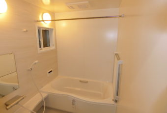 お風呂の改修工事 1.25坪の広いお風呂です